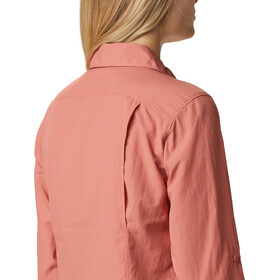 Columbia Silver Ridge 2.0 Longsleeve Shirt Women dark coral